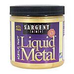 Sargent Art Gold  8-Ounce Liquid Metal Acrylic Paint 22-1181