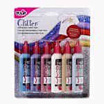 Tulip Glitter 3D Fashion Paint, 1.25-Ounce,  23427 Dimensional 6-Pack