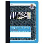 PACON COMPOSITION BOOK, BLUE - ZEBRA 9.75