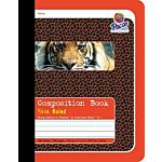 PACON COMPOSITION BOOK, RED TIGER 9.75