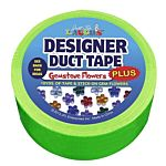 Just for Laughs Designer Duct Tape Plus Gemstone Flowers