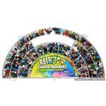 Rainbow Glass Beads Assortment 29060