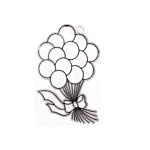 Kellys Suncatcher Bulk Balloons - Pack Of 6