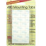 480 Mounting Tabs Removable, 1/2