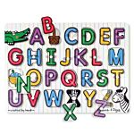 Melissa & Doug See-Inside Alphabet Peg Wooden Puzzle - 26 Pieces, item 3272