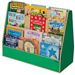Wood Designs, Children's Double Sided Book Display, Green , WD34200G