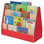 Wood Designs, Children's Double Sided Book Display, Red , WD34200R