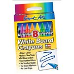 Sargent Art 35-0521 8-Count Wipe-Off White Board Crayons