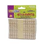 Wood Smart Sticks Natural Colors 75/pkg. (3680-01)
