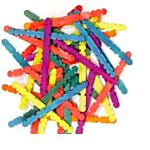 Wood Smart Sticks Bright Colors 75/pkg. (3680-02)