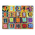 Melissa & Doug Jumbo Numbers Chunky Wooden Puzzle, item 3832