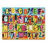 Melissa & Doug Jumbo ABC Chunky Wooden Puzzle, item 3833