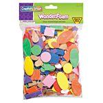 Self-Adhesive Peel & Stick WonderFoam Shapes-720 Pcs/Bag