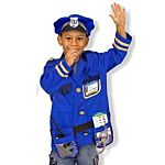 Melissa & Doug Police Officer Role Play Costume Set, Ages 3-6 yrs , 4835