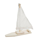 Darice DIY Wood Sailboat Kits,  Set Of 12 (48/3633)