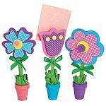Flower Recipe or Picture Holder Craft Kit,12 sets