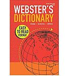 Webster's Dictionary Paperback