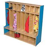 Wood Designs, Children 8 Section Locker 54