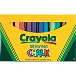 Crayola Colored Drawing Chalk 12 colors set BIN510403