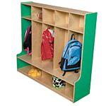 Wood Designs, Children 5 Section Locker 54
