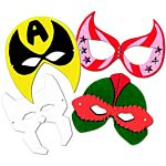Super Hero Masks - 24/pkg
