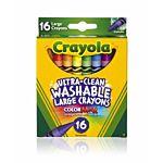 Crayola Washable Crayons 16-pk  (52-6916)