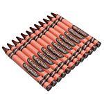 Crayola Regular Crayon Single Color Refill Pack - Brown -12 count
