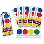 Crayola  Refill (Package of six) 4 Color Pan Set Jumbo So Big Washable Watercolors 53-1500