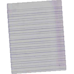 Hebrew Composition Paper Ream Of 500 Sheets