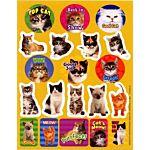 Eureka Motivational Cats Theme Stickers (655202)