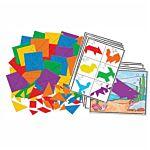 Roylco Tangram Puzzle Mosaics, R15663