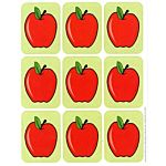 Eureka Apples Giant Stickers (65016)