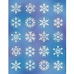 Eureka Snowflakes Theme Stickers (655040)