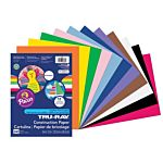 Pacon Tru-Ray Sulphite Smart Stack Construction Paper, Assorted Colors, 9-Inches by 12-Inches, 240-Count, 6586