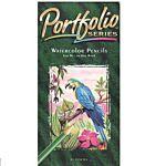 Vintage Crayola Portfolio Water Colored Pencils, 24 Colors 68-4924