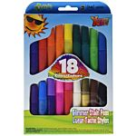 The New Image Group Kelly's Crafts Stain Pen 18-Pack, Bold, Glimmer (Glitter)