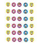 Smiles Stickers 3/4