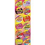 300 Self-Adhesive Jumbo Judaic Stickers Classpack  Morah Proud