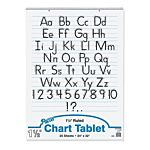 PACON CHART TABLET WHITE 24