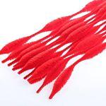 Chenille Kraft  Bump Stem Red , 12