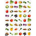 Vegetables Stickers 3/4