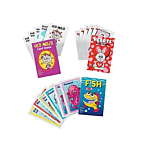 Paper Card Game Assortment, 12 units