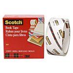 Scotch Book Tape , 3 Inches x 15 Yards, 845