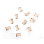 Darice Wood Spools - 1-3/15 x 7/8 inches - 50 pieces (9119-59)