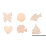 Darice Unfinished wood disk cutouts