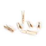 Darice Medium Spring Clothespins - Natural - 2.75 inches - 30 pieces (9151-07)