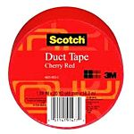 3M Duct Tape, Cherry Red, 1.88-Inch by 20-Yard