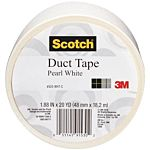 3M Duct Tape, White, 1.88-Inch by 20-Yard