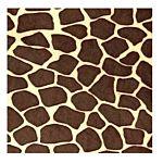 Brown Spots Giraffe Fleece Fabric 30