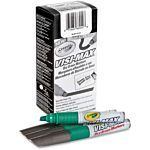 Dry Erase Board Markers, Visi-Max, Chisel Tip, Green